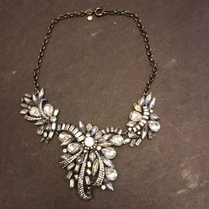 Vintage look statement necklace by j Crew